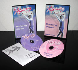 Alphabics DVD and Band set